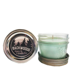 Backwoods Soap & Co Love Spell Mini Mason