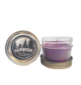 Backwoods Soap & Co Black Raspberry Mini Mason