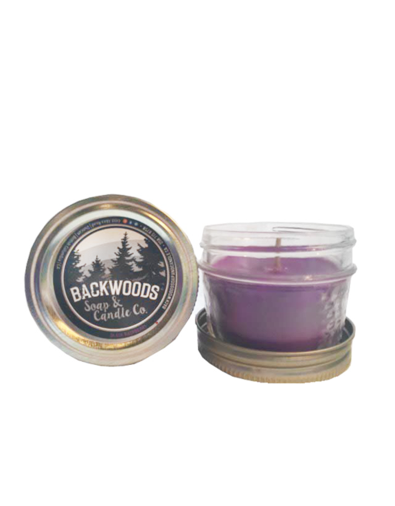 Backwoods Soap & Co Black Raspberry Mini Mason