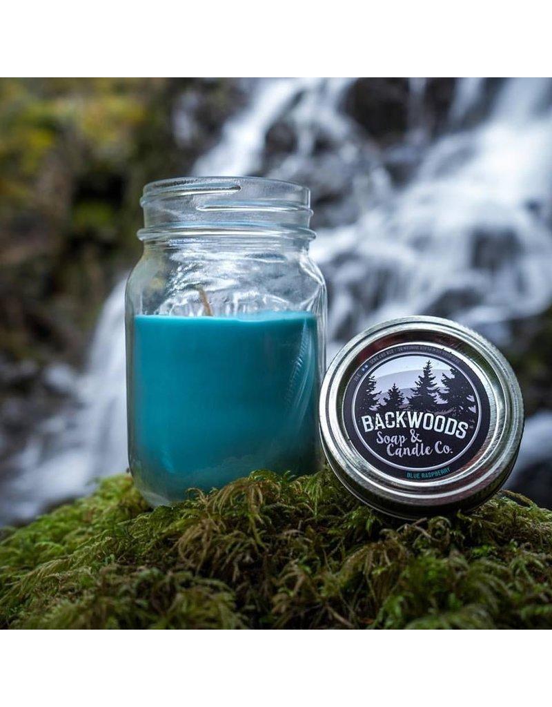 Backwoods Soap & Co Blue Raspberry Large Mason