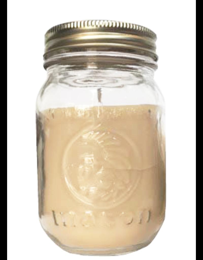Backwoods Soap & Co Oatmeal Milk and Honey Large Mason