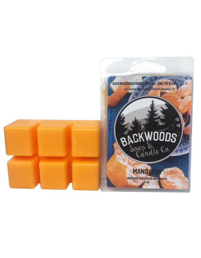 Backwoods Soap & Co Mandarin Wax Melt