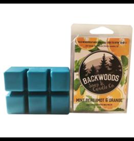 Backwoods Soap & Co Mint, Bergamot & Orange Wax Melt
