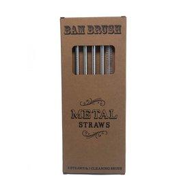 Bam Brush Bam Brush Metal Straws