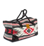 Lace Brick Designs Red Weekender Bag
