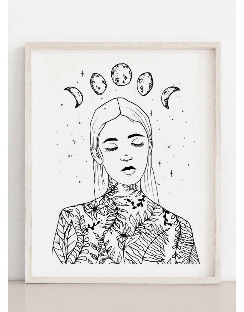 Melina Blossoming Print