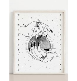Melina Zodiac Print