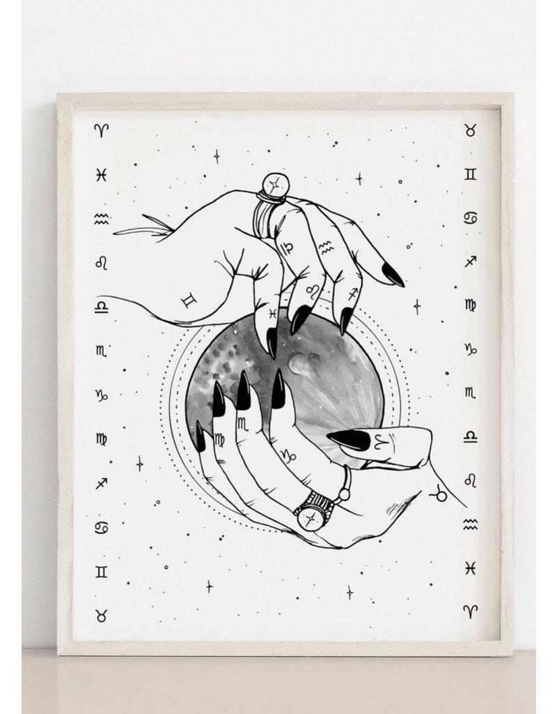 2humans1pooche Zodiac Print