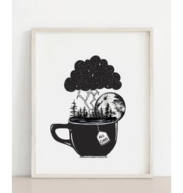 2humans1pooche Storm in a Teacup Print