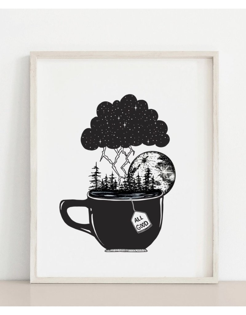 MELI.THELOVER Storm in a Teacup Print