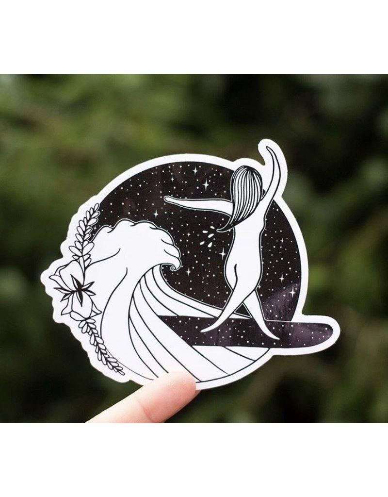MELI.THELOVER Surfer Girl Sticker