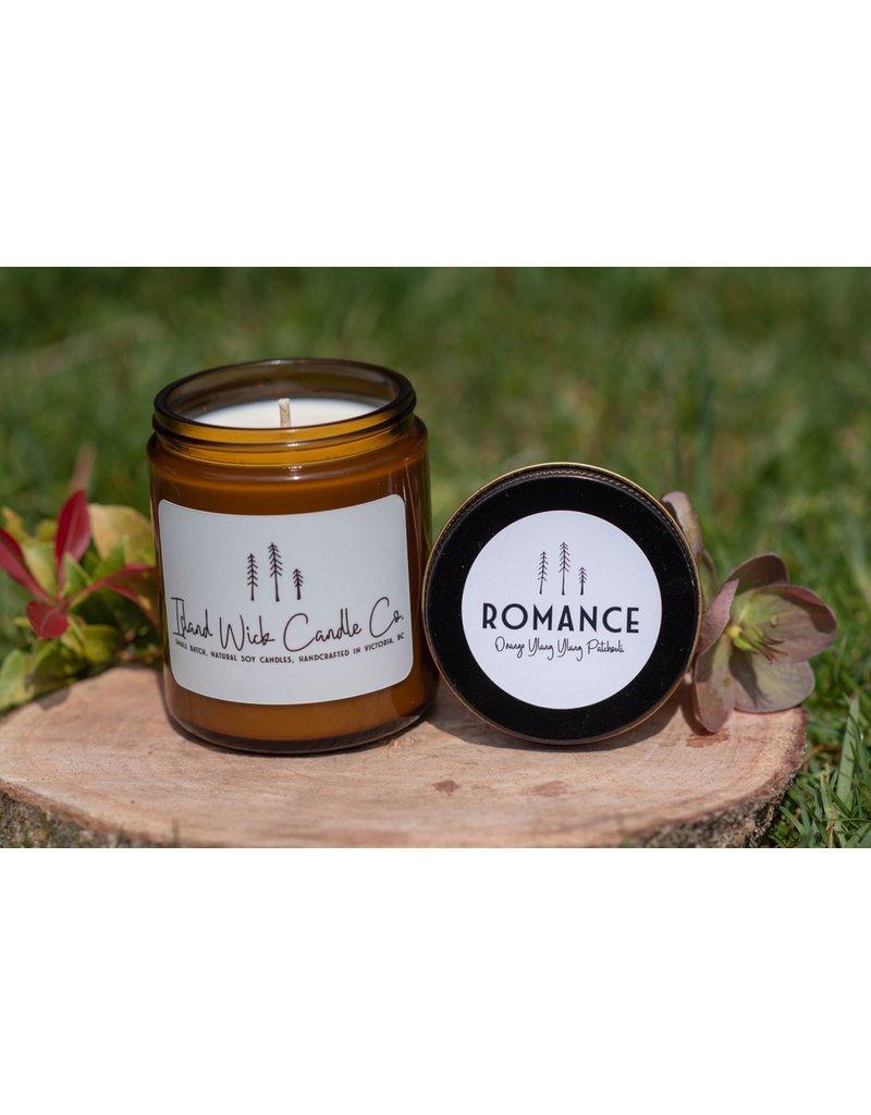 Island Wick Candle Co 8oz Jar - Romance