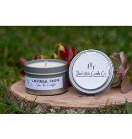 Island Wick Candle Co 4oz Tin- Cathedral Grove