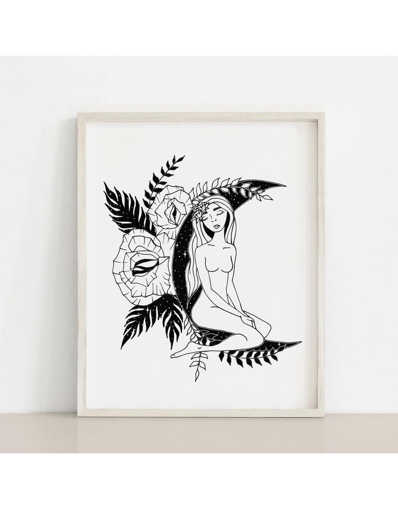 MELI.THELOVER Moon Women Print