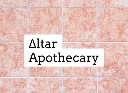 Altar Apothecary