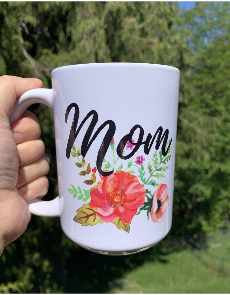 Cultured Coast Mom 15oz White Mug