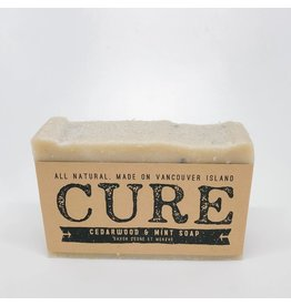 CURE Soaps Cedarwood Mint