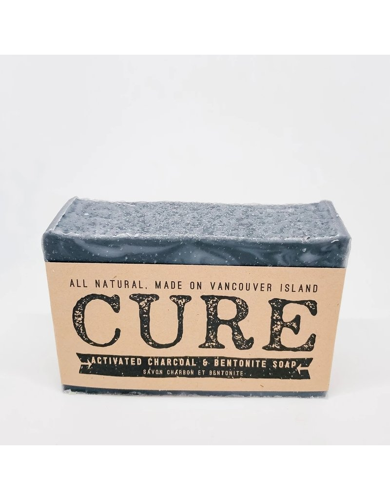 CURE Soaps Activated Charcoal & Bentonite
