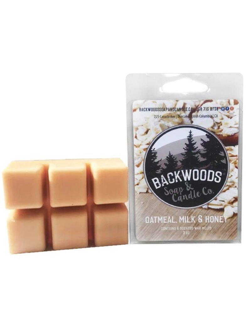 Backwoods Soap & Co Oatmeal, Milk & Honey Wax Melt