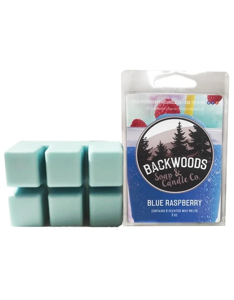 Backwoods Soap & Co Blue Raspberry Wax Melt