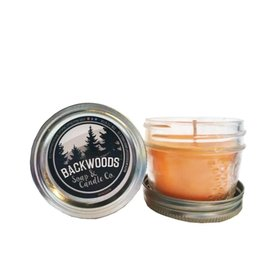 Backwoods Soap & Co Mandarin Mini Mason