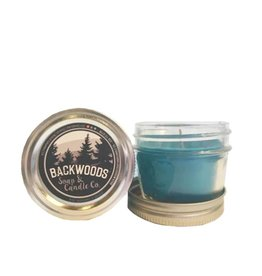 Backwoods Soap & Co Mint, Bergamot & Orange Mini Mason
