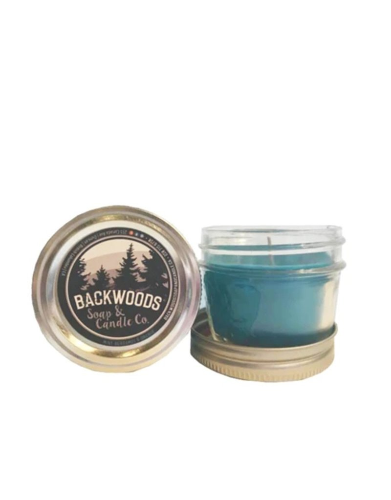 Backwoods Soap & Co Mint, Bergamot & Orange Mini Mason