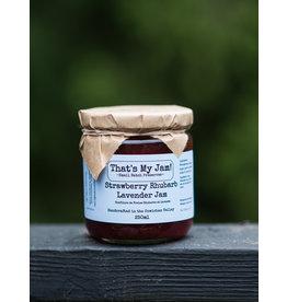 That's My Jam Strawberry Rhubarb Lavender Jam