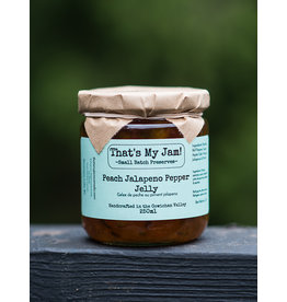 That's My Jam Peach Jalapeno Pepper Jelly