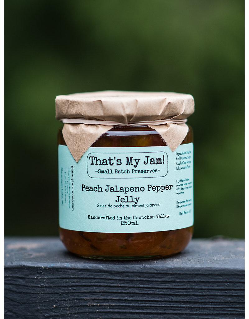 That's My Jam Peach Jalapeno Pepper Jelly