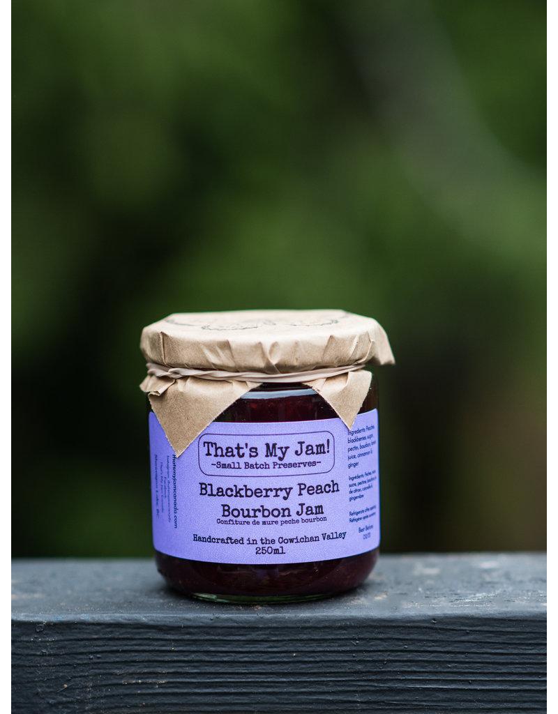 That's My Jam Blackberry Peach Bourbon Jam
