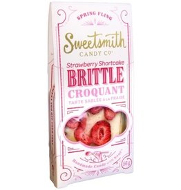 Sweetsmith Candy Co Strawberry Shortcake Brittle