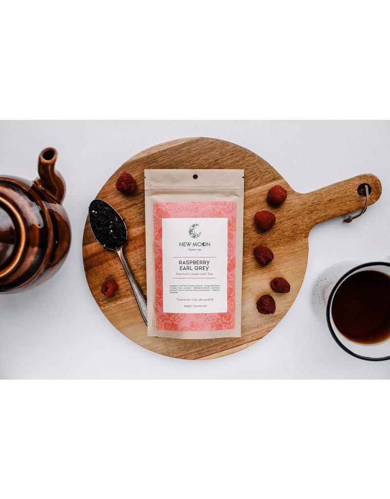 New Moon Tea Co Raspberry Earl Grey