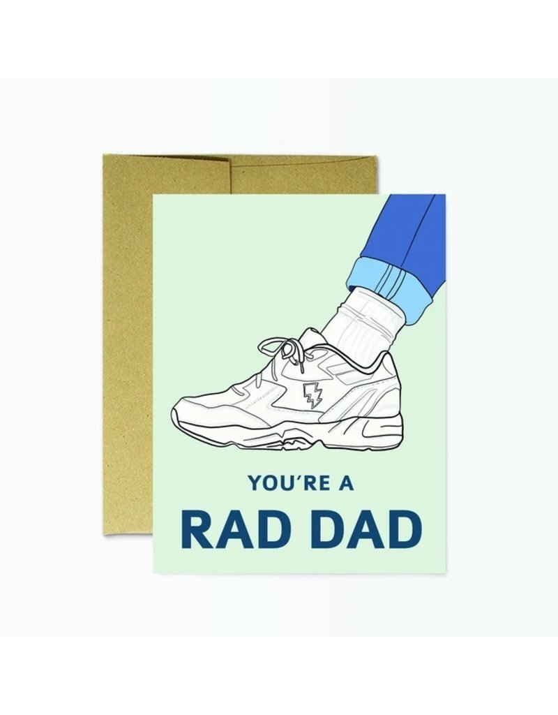 Party Mountain Paper Co Father's Day Rad Dad