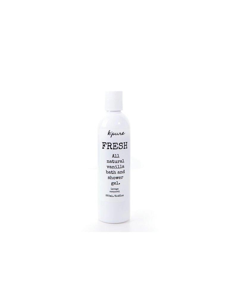 Kpure Fresh Bath & Shower Gel- Vanilla