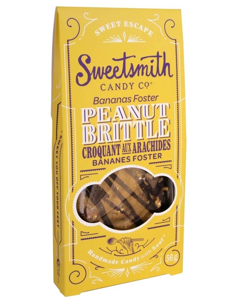 Sweetsmith Candy Co Banana Peanut Brittle