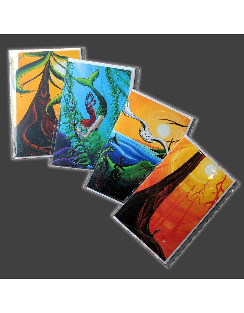 "Yvonne Acheson Art ""Treasure Found"" Greeting Card"