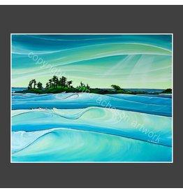 "Yvonne Acheson Art ""Chesterman Swells"" Medium Print"