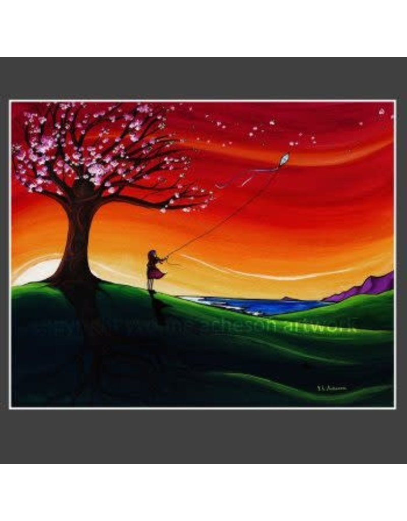 "Yvonne Acheson Art ""Cherry Blossoms"" Medium Print"
