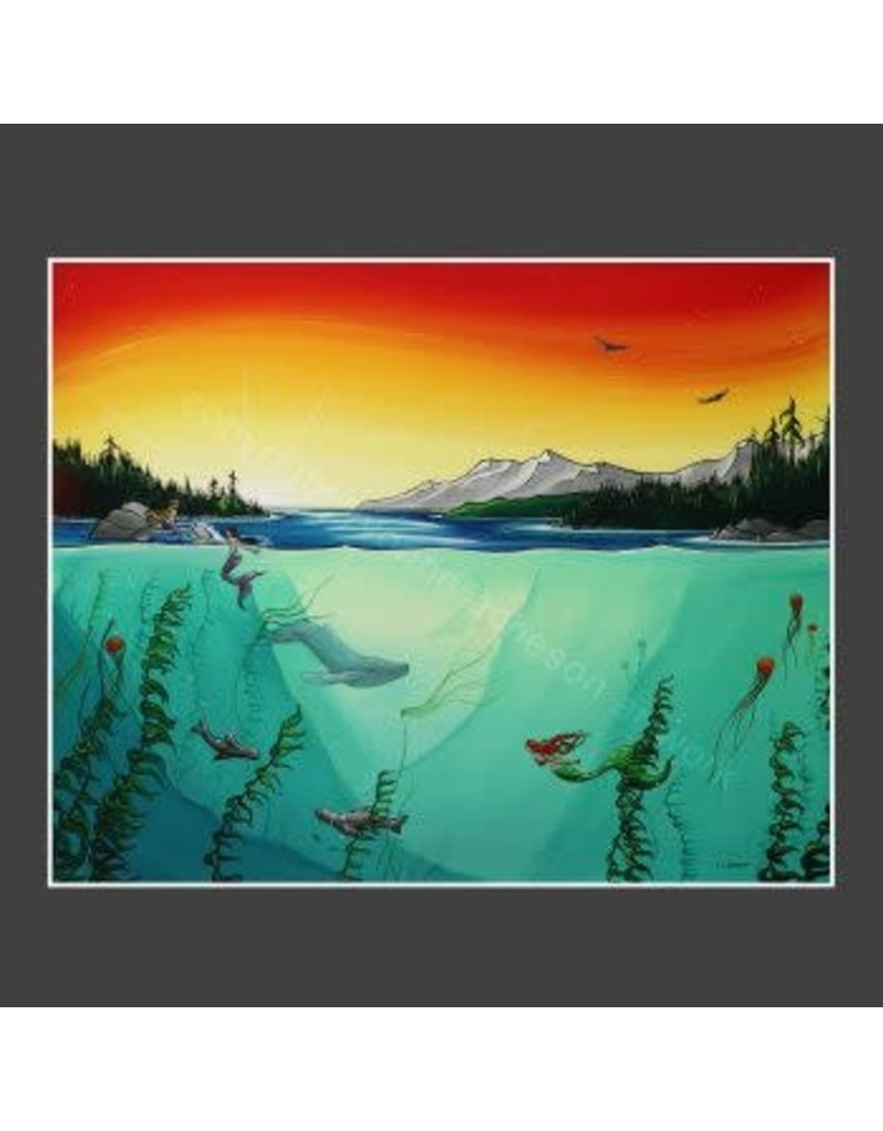 "Yvonne Acheson Art ""Fathoms Below"" Large Print"