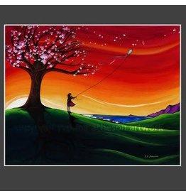 "Yvonne Acheson Art ""Cherry Blossoms"" Large Print"