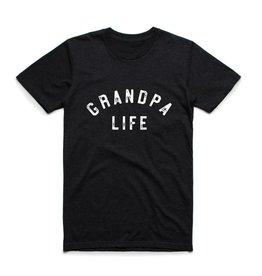 "My Cheeky Baby ""Grandpa Life"" Tee Triblend Black"