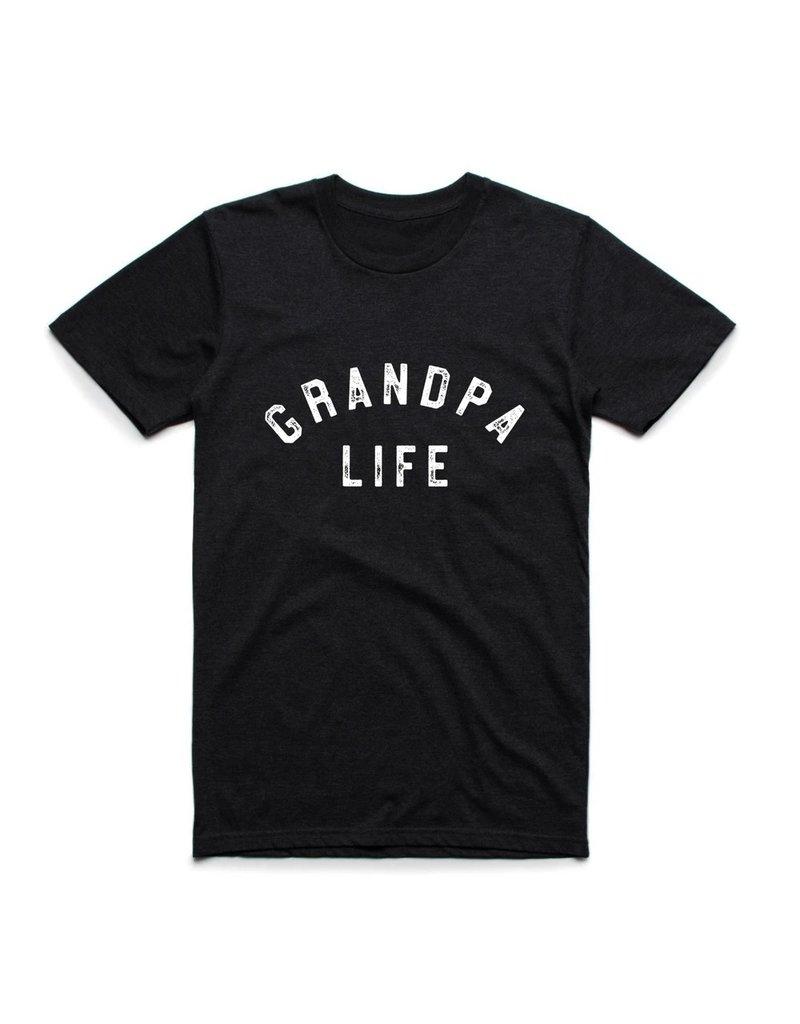 """Grandpa Life"" Tee Triblend Black"