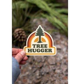 Amanda Weedmark Tree Hugger Sticker