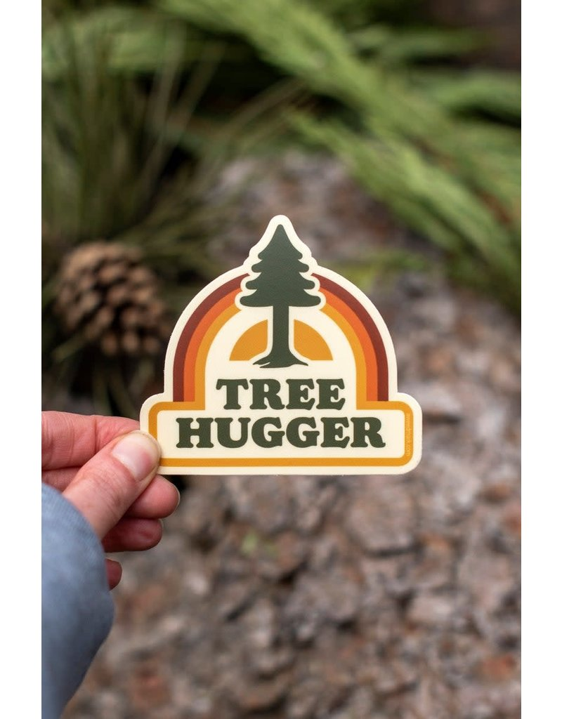 Amanda Weedmark Tree Hugger Sticker