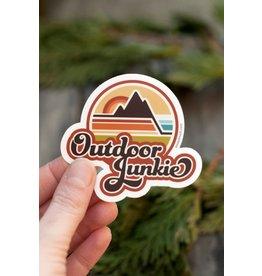 Amanda Weedmark Outdoor Junkie Sticker