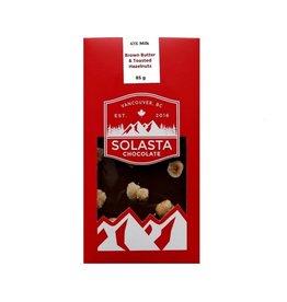 Solasta Brown Butter & Toasted Hazelnut 41% Milk Chocolate