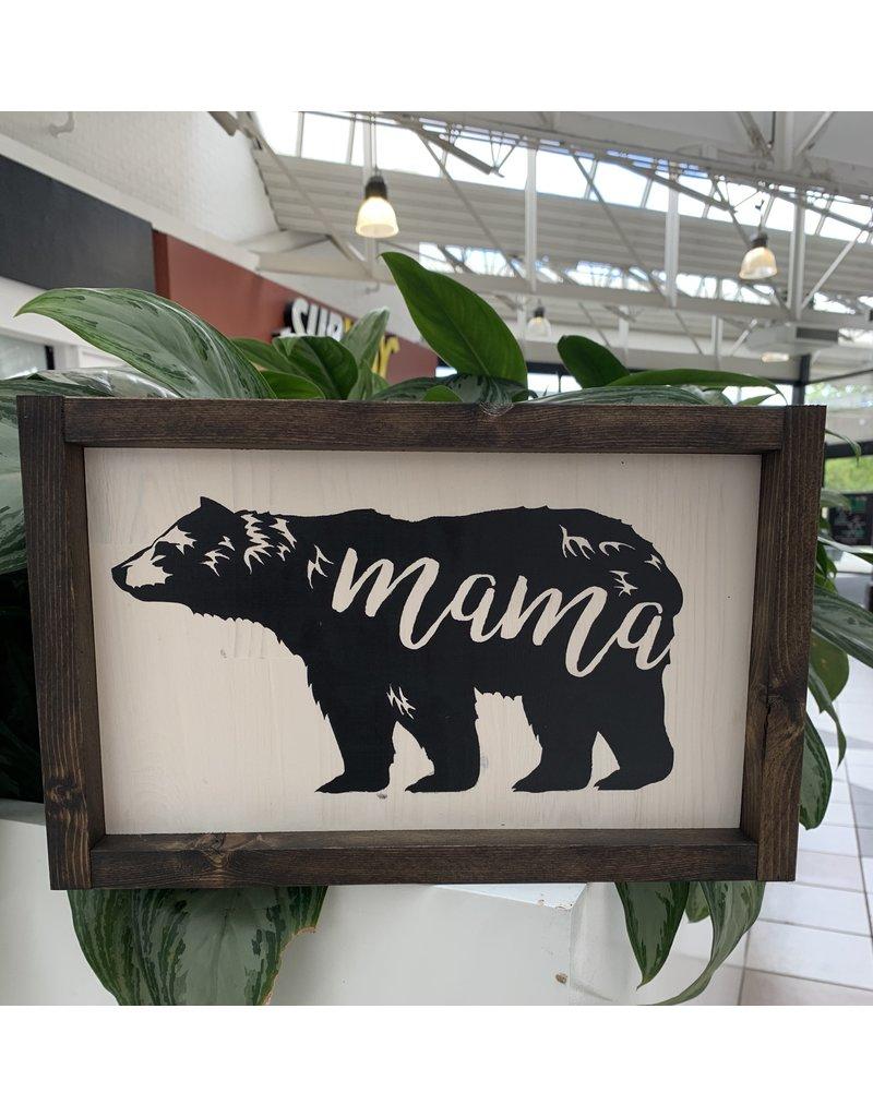 Cultured Coast Mama Bear Sign