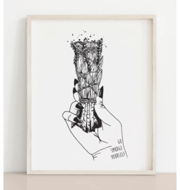 MELI.THELOVER Go Smudge Yourself Print