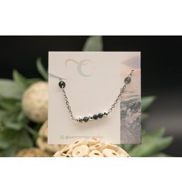 Over the Moon Jewelry Sapphire Necklace